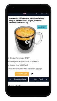 Amazon Coupons - Promo Codes / Coupons For Amazon screenshot 6