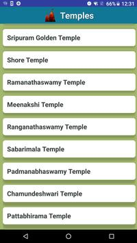 Famous Temples of India poster