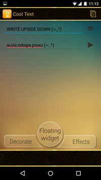 Cool Text - Floating Widget screenshot 5