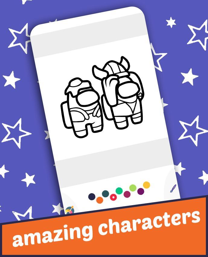 Among Us Coloring Book Pour Android Telechargez L Apk