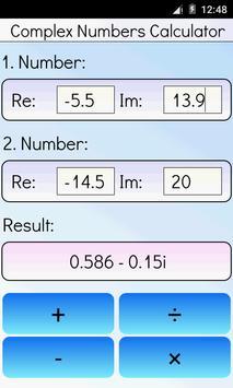 Complex Numbers Calculator screenshot 2
