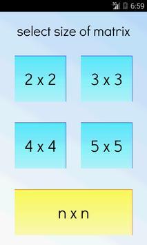 Matrix Determinant Pro screenshot 3