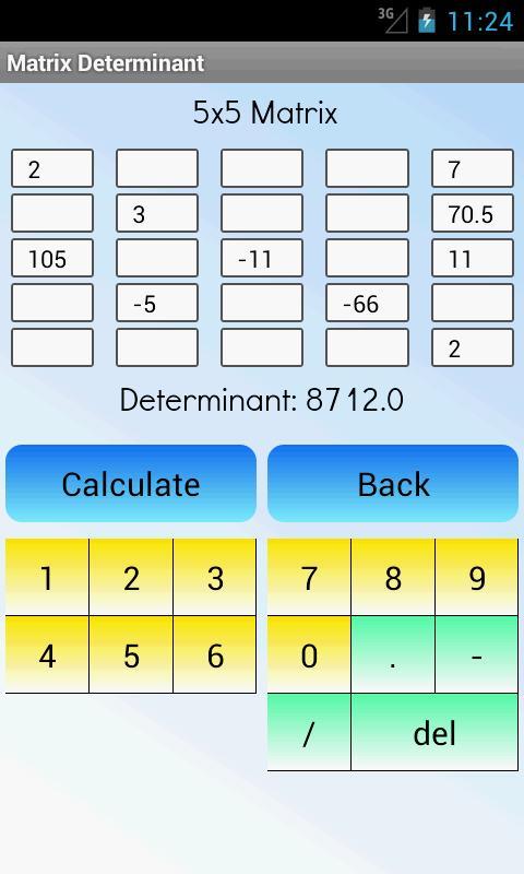 Matriks Determinan Kalkulator For Android Apk Download