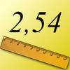英寸到厘米 图标