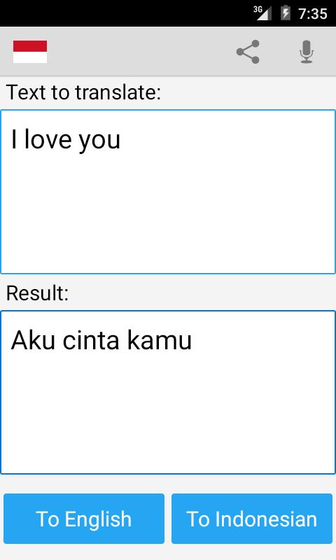 translate indonesian to english free download