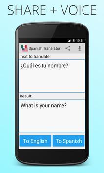 Spanish English Translator screenshot 3