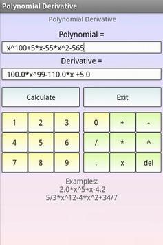 Polynomials Math screenshot 1