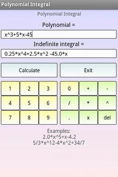 Polynomials Math screenshot 2