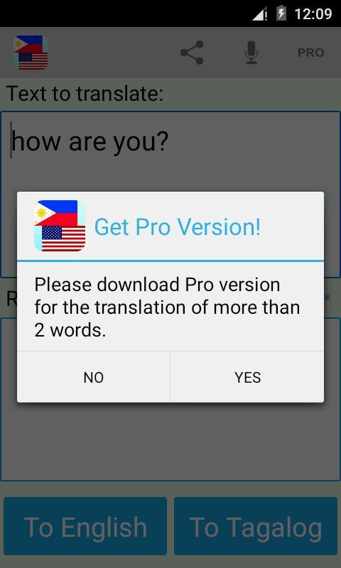 tagalog to english translations