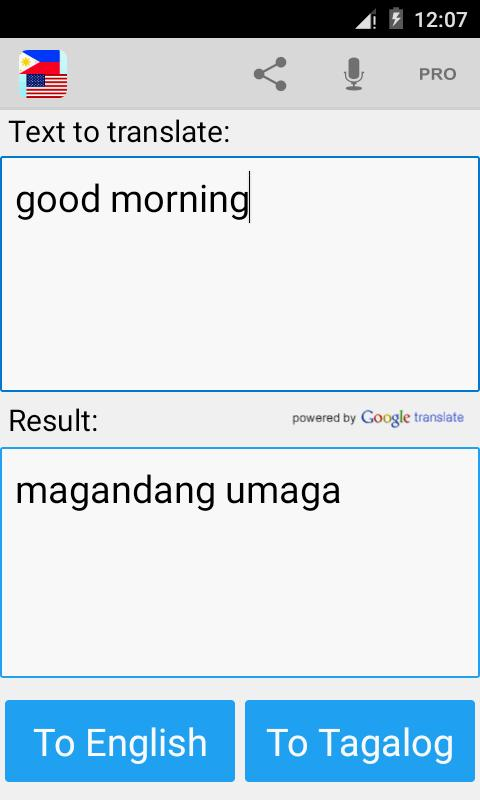 Tagalog English Translator For Android Apk Download