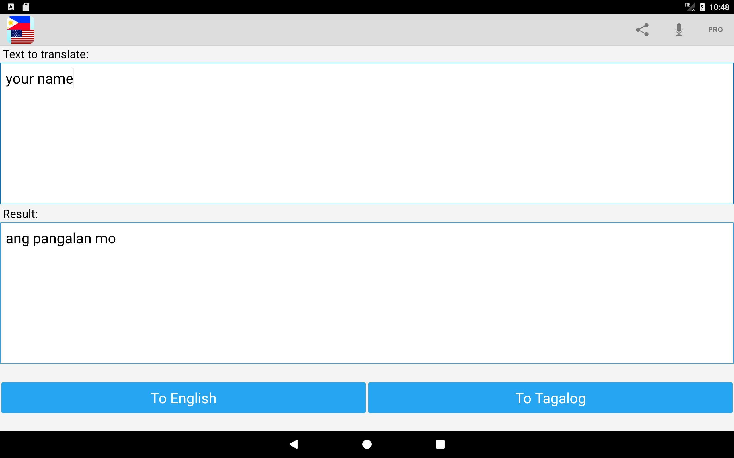 Tagalog English Translator for Android - APK Download