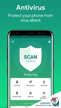 Virus Cleaner - Antivirus, Booster & Phone Clean penulis hantaran