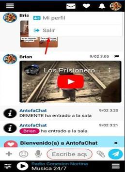 AntofaChat | RadioChat 24/7 screenshot 1