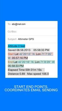 GPS Altimeter screenshot 3