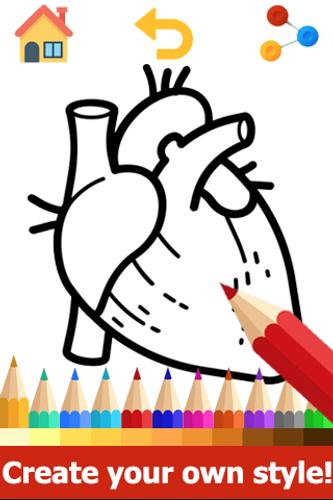 Anatomy Coloring Book Anatomy Coloring Pages For Android Apk Download