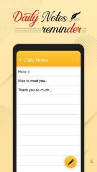 Daily Notepad : Color Notes & Reminders screenshot 4