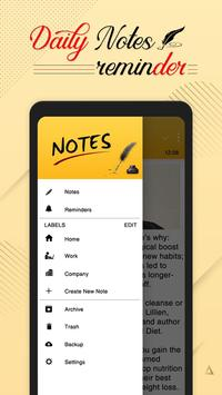 Daily Notepad : Color Notes & Reminders screenshot 6