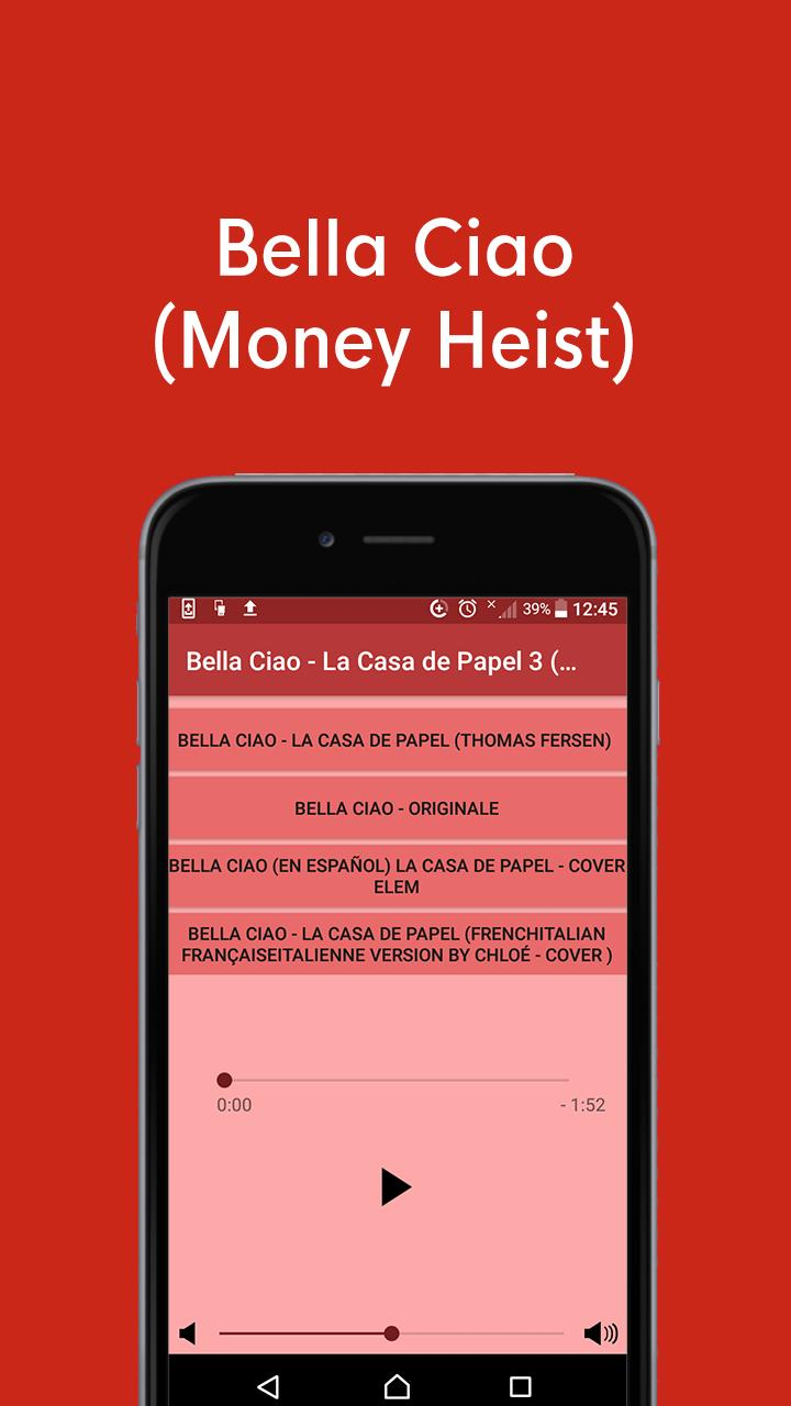 Bella Ciao La Casa De Papel 3 Money Heist For Android Apk Download