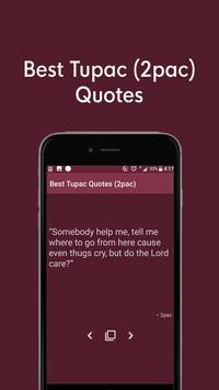 Best Tupac Quotes Offline (2pac Amaru Shakur) screenshot 2