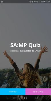 SA:MP Quiz - Cat de bine stii SAMP? poster