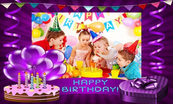 Happy Birthday Photo Frames screenshot 5
