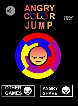 Angry Color Jump poster