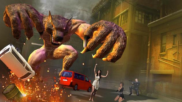 The Angry Wolf Simulator : Werewolf Games poster