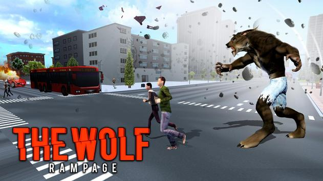 The Angry Wolf Simulator : Werewolf Games screenshot 10