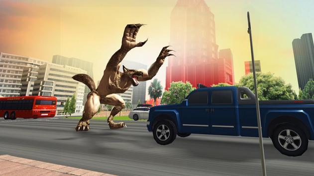 The Angry Wolf Simulator : Werewolf Games screenshot 11