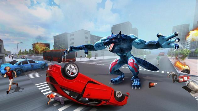 The Angry Wolf Simulator : Werewolf Games screenshot 12