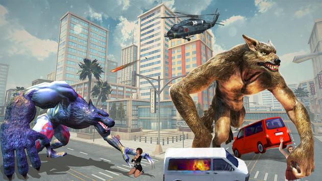 The Angry Wolf Simulator : Werewolf Games screenshot 16