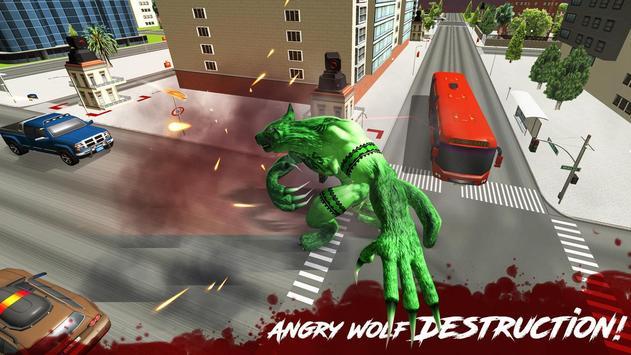 The Angry Wolf Simulator : Werewolf Games screenshot 7