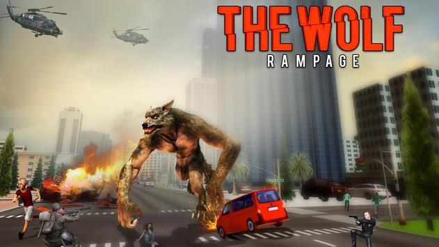 The Angry Wolf Simulator : Werewolf Games screenshot 4