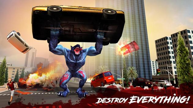 The Angry Wolf Simulator : Werewolf Games screenshot 8