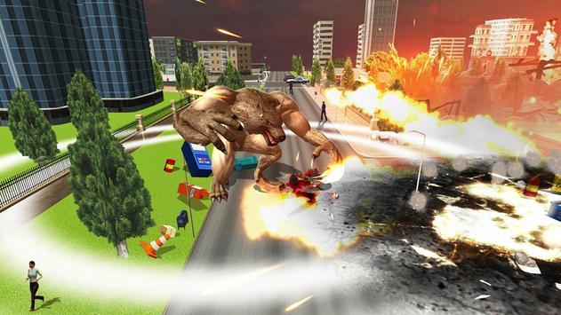 The Angry Wolf Simulator : Werewolf Games screenshot 9