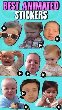 ANIMATED Babies WastickerApps screenshot 1
