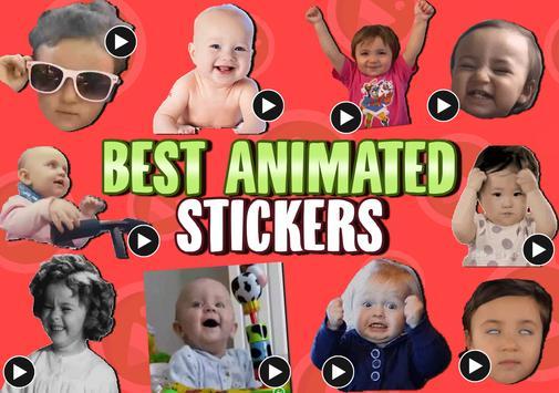 ANIMATED Babies WastickerApps screenshot 4