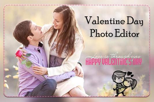 Valentine's Day Photo Editor 2019 poster