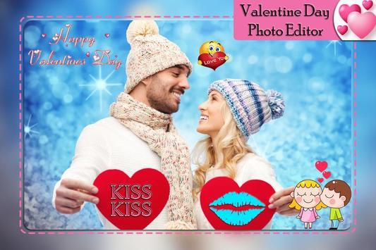 Valentine's Day Photo Editor 2019 screenshot 1
