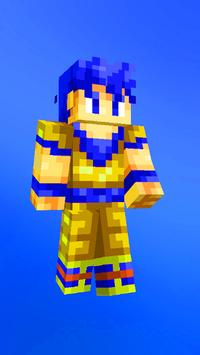 Anime skins for Minecraft pe captura de pantalla 1
