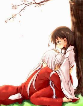 Wallpaper Anime Kagome X Inuyasha ảnh chụp màn hình 4