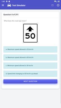Quebec Driving Test -  SAAQ, Class 5 screenshot 4