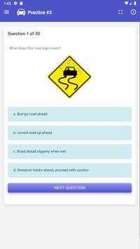 Quebec Driving Test -  SAAQ, Class 5 screenshot 6