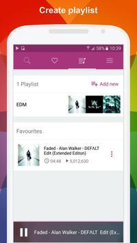 Free Music: FM Radio & MP3 Player screenshot 2