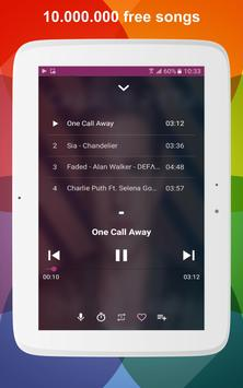 Free Music: FM Radio & MP3 Player screenshot 4