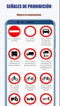 Señales de trafico - DGT carnet de conducir captura de pantalla 3