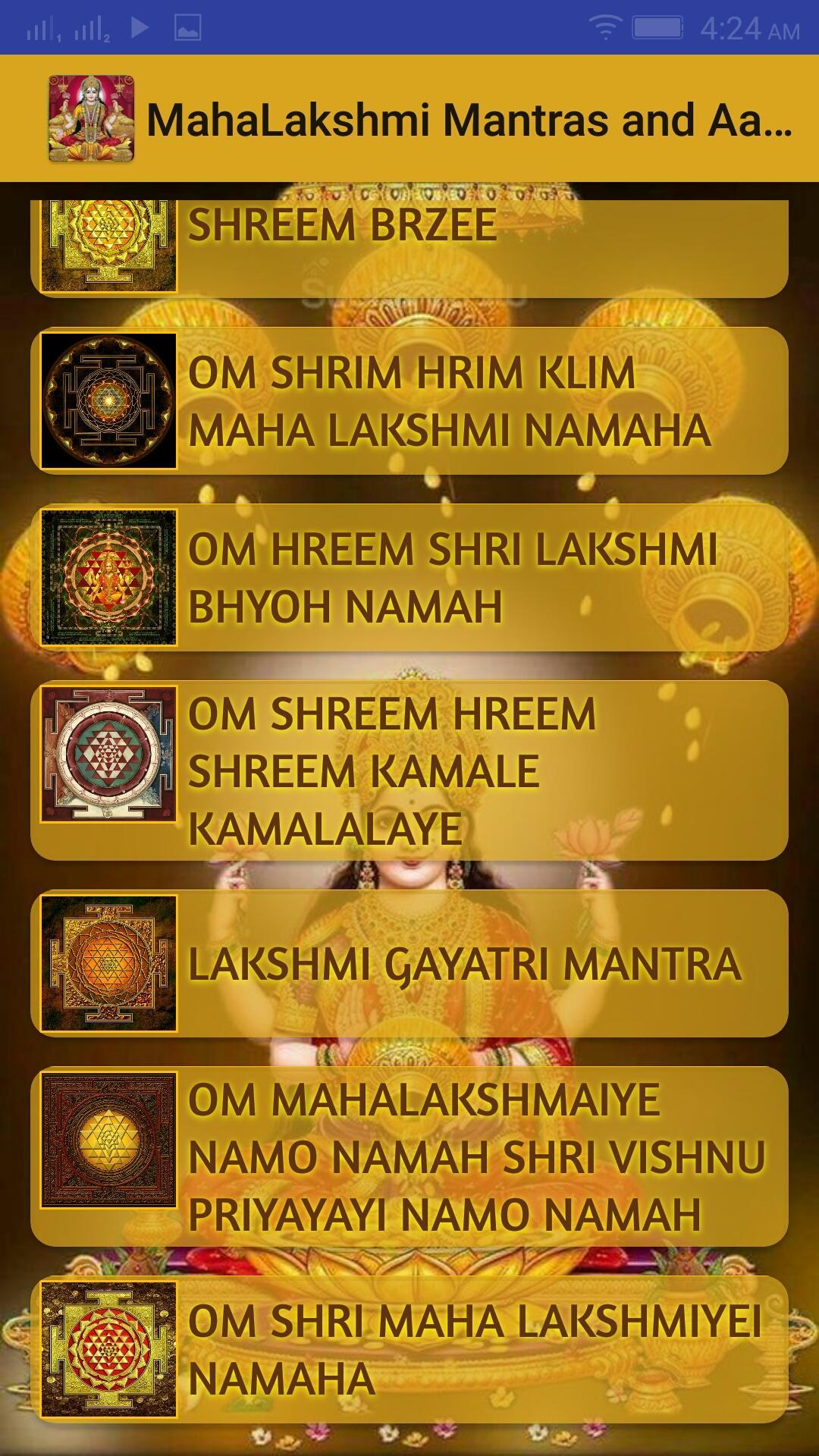Lakshmi Vedic Mantras for Money and Success for Android - APK Download