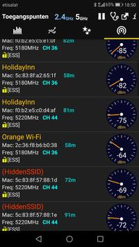WiFi Analyzer Premium screenshot 4