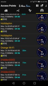 WiFi Analyzer syot layar 5