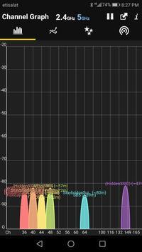 WiFi Analyzer syot layar 6